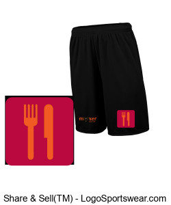 Adult Training Shorts with Pockets Design Zoom